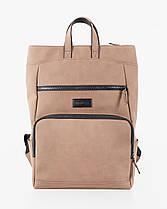 """Прочный мужской рюкзак """"SOLVER 2"""" на 18л, спортивний городской для путешествий, сумка для ноутбука, Винтаж, фото 2"""