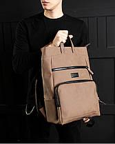 """Прочный мужской рюкзак """"SOLVER 2"""" на 18л, спортивний городской для путешествий, сумка для ноутбука, Винтаж, фото 3"""