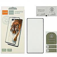 Защитное стекло TigerGlass для SAMSUNG N970 Galaxy Note 10 Full Glue (0.15 мм, 5D, чёрное)