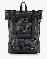 """Мужской рюкзак """"ROLL"""" принт геометрия,хаки, на 19л, сумка для ноутбука,спортивный,для путешествий,повседневный"""