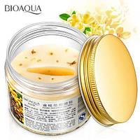 Маска - патчи для кожи вокруг глаз с золотым османтусом Bioaqua Golden Osmanthus Eye Mask (80шт/140г)adw