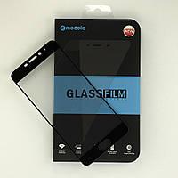 Защитное стекло MOCOLO для Meizu M5 Note черный (Олеофобное покрытие)