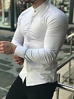 Рубашка мужская приталенная CL x white ТОП качества, фото 1