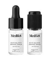 Сыворотка от пигментации с койевой кислотой White Balance Original Serum - Medik8 2 шт по 10 мл