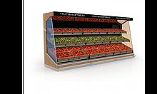 Овочеві стелажі