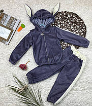 Детский спортивный костюм велюр