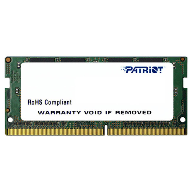 Оперативна пам'ять SO-DIMM 8GB Patriot SL (PSD48G266681S)