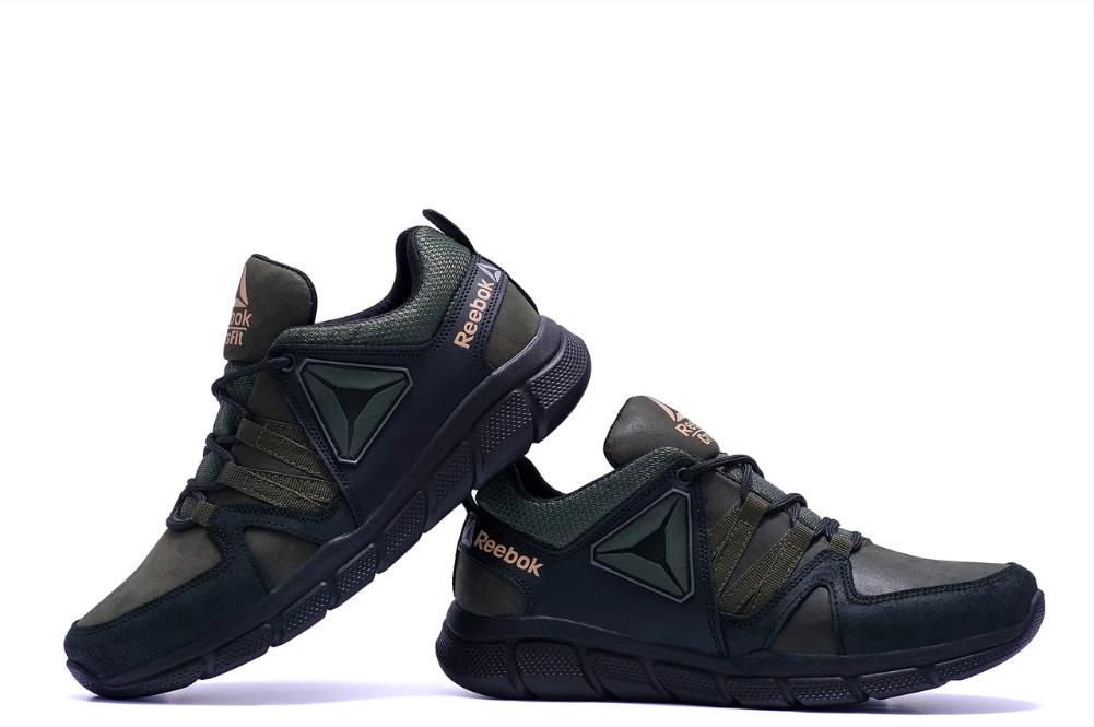 Кроссовки мужские кожаные Reebok Classic Tracking Green