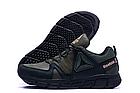 Кроссовки мужские кожаные Reebok Classic Tracking Green, фото 2