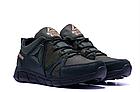 Кроссовки мужские кожаные Reebok Classic Tracking Green, фото 3