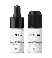 Сыворотка от пигментации с оксиресвератролом - White Balance Brightening Serum - Medik8 2 шт по 10 мл