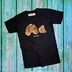Футболка чёрная Palm Angels Kill Bear • Палм Анджелс футболка