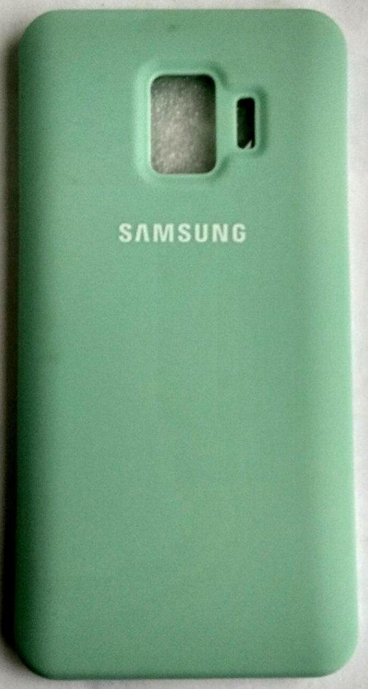 """Силіконовий чохол """"Оригінал Велюр"""" Samsung J260/J2 Core бірюза"""