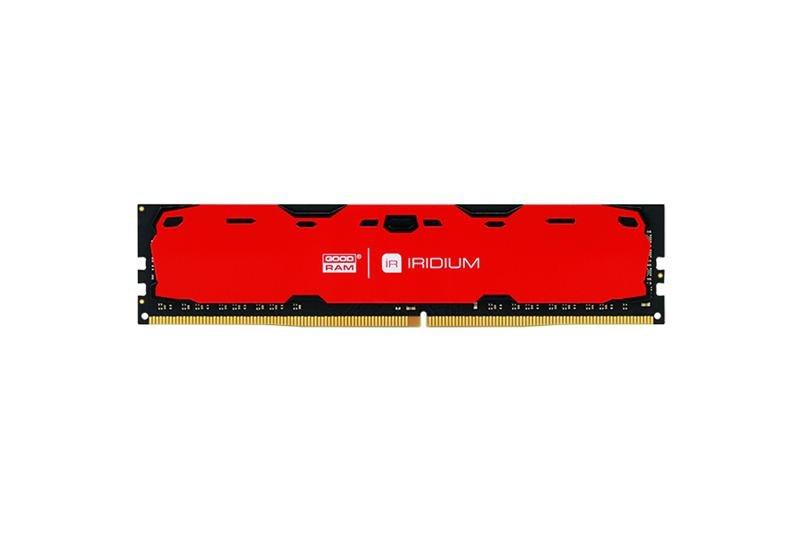 Оперативна пам'ять 4GB Goodram Iridium Red (IR-R2400D464L15S / 4G)