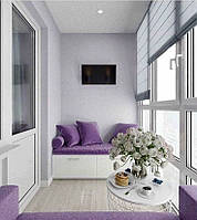Декоративные матрасы-подушки для балкона и лоджии от 600 грн