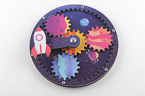 Заготовка для бизиборда Космос цветной