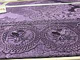 Жаккардовое покрывало 240*260 с наволочками Gardine's Diana  murdum, фото 4