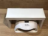 Подставка для рук маникюрная на ножках , белая, фото 2