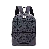 Рюкзак женский Bao Bao флуоресцентный голографический. Стильный городской рюкзак