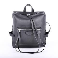 Кожаный рюкзак Virgo черный flotar