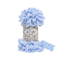 Alize Puffy 183 светло-голубой