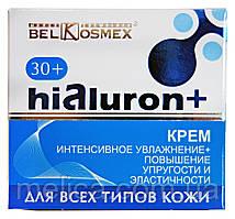 Крем для лица Hialuron+ 30+ Интенсивное увлажнение + Повышение упругости и эластичности - 48 г.