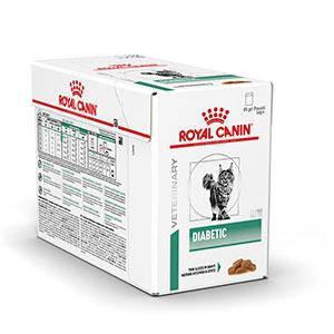Влажный корм Royal Canin (Роял Канин) Diabetic Cat для кошек при сахарном диабете, 85гx12 шт