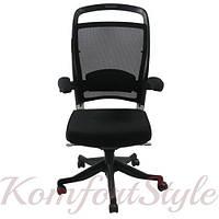 Кресло/стул для руководителя Office4You FULKRUM Black Mesh & fabric (9264)