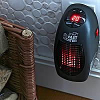 Портативный электрический настенный обогреватель 400W FAST HEATER, тепло-вентилятор! Топ Продаж