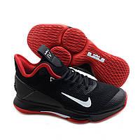 Кроссовки баскетбольные Nike LeBron Witness 4 красно-черный