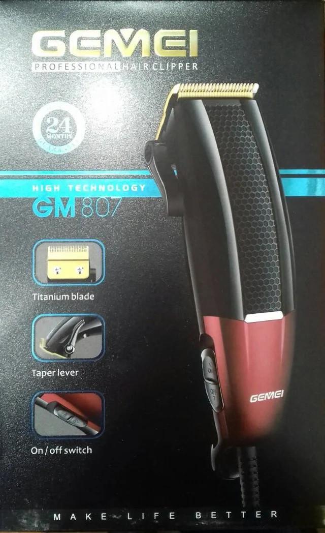 Машинка для стрижки волосся Gemei GM 807