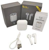 Bluetooth наушники с сенсором i5 TWS! Топ Продаж