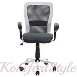 Кресло офисное для персонала Office4You LENO, Black-white 27785, фото 2