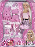 """Набор с куклой Ася 28 см """"Розовый стиль"""""""