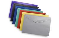 Папка-конверт на кнопке А4 Buromax ВМ.3925 непрозрачная