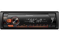 Pioneer MVH-S120UB бездисковый MP3/SD/USB/FM Автомобильная авто магнитола Автомагнитола Автозвук Pioneer