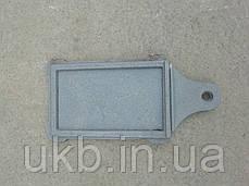 Заcлонка дымохода чугунная 180*280 мм / Засувка димаря чавунна 180*280 мм, фото 3
