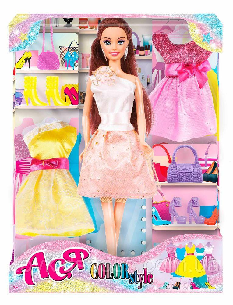 Набор с куклой Ася  Color Style