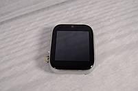 """Умные часы-телефон 1.54"""" смарт часы с камерой Smart Watch Z6S (серые + белый ремешок), фото 2"""