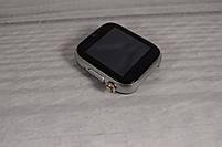 """Умные часы-телефон 1.54"""" смарт часы с камерой Smart Watch Z6S (серые + белый ремешок), фото 3"""