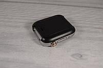"""Умные часы-телефон 1.54"""" смарт часы с камерой Smart Watch Z6S (серые + белый ремешок), фото 4"""