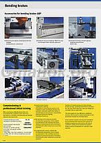 Metallkraft GPB R листогибы гидравлические пресс гибочный кромкогиб, фото 3