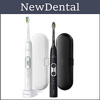 Promo-набір ProtectiveClean 6100 (2 зубні електричні звукові щітки) HX6877/29