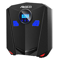 Автокомпрессор AIKESI AKS-5501 автомобильный компрессор с LED экраном пневматический