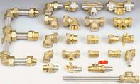 Гнучка труба з нержавіючої сталі Dispipe та з'єднувачі для геліосистем та водопостачання