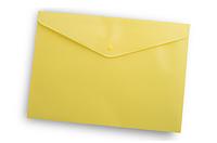 Папка-конверт на кнопке А4 Buromax ВМ.3925 непрозрачная Желтый