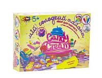 """Набор для лепки из теста Сладостей """"Candy cream : Кремовые фантазии"""" с формочками и пластилином"""
