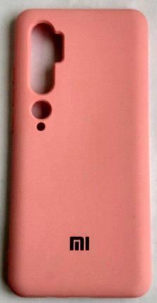 """Силіконовий чохол """"Оригінал Велюр"""" Xiaomi Mi Note 10/Mi CC9 Pro Rose, фото 2"""
