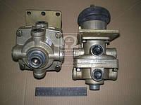 Кран тормозной 2-секц. под глушитель шума ( ПААЗ), 100.3514008-01