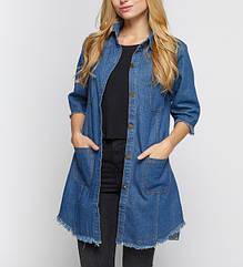 Жіночі джинсові куртки